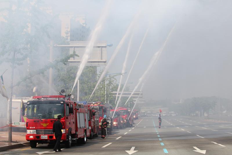 10.5.14 재난대응 안전한국훈련 용산역(2)