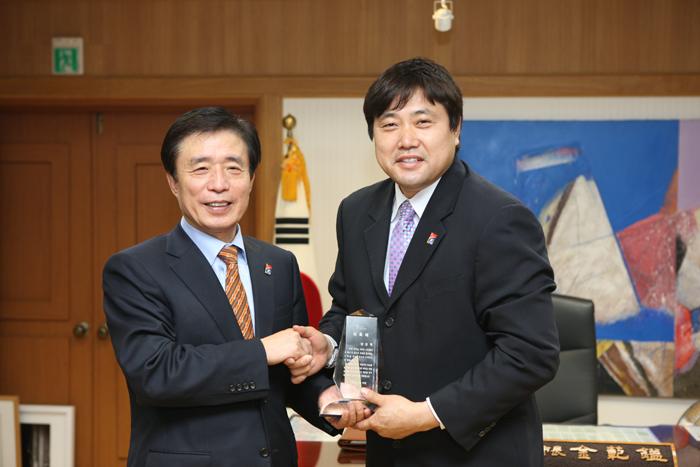 양준혁 홍보대사 위촉