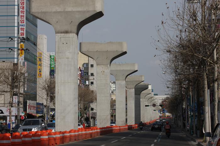 도시철도3호선-명덕네거리