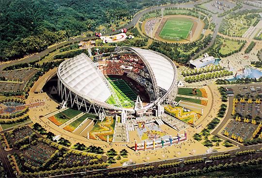가을의 월드컵공원