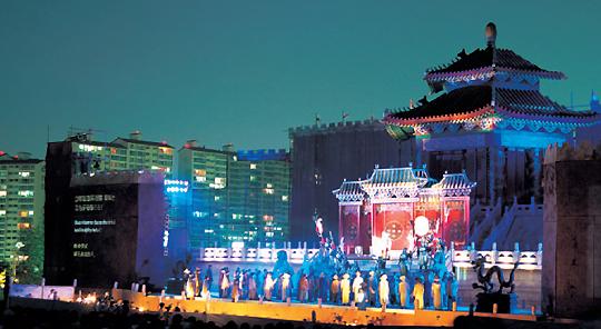 코오롱야외음악당의 가을