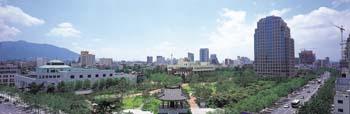 국채보상운동기념공원 전경