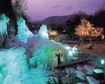 비슬산 자연휴양림 얼음동굴2