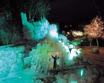 비슬산 자연휴양림 얼음동굴3