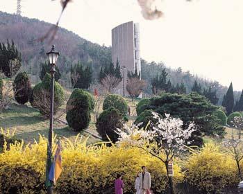 앞산공원 충혼탑