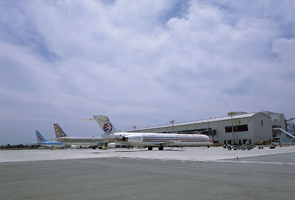 대구국제공항 중국기