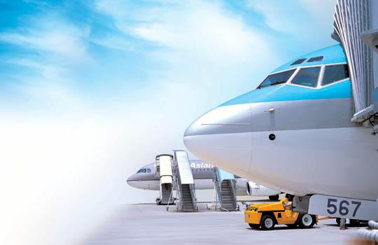 대구공항-비행기