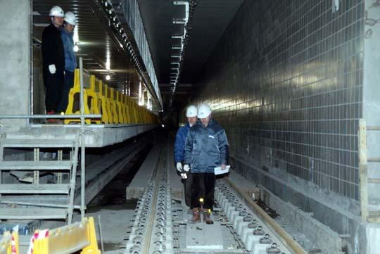 지하철건설현장
