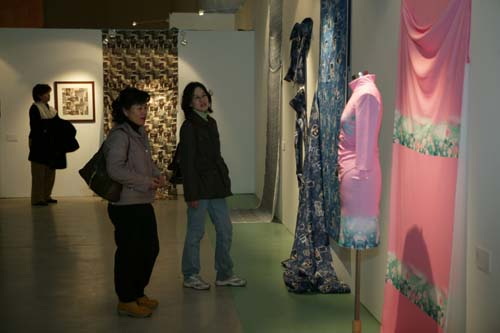 패션쇼 아트섬유전시회5