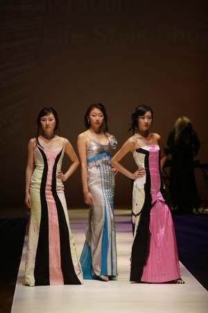 패션쇼 아트섬유전시회12