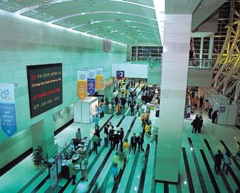 컨벤션센터-섬유전시회1