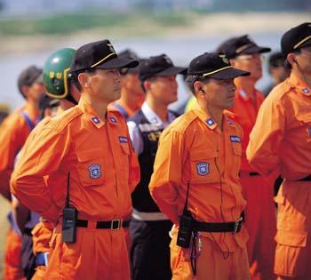 119대원(응급구조대)
