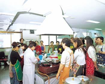 종합복지회관 요리강습
