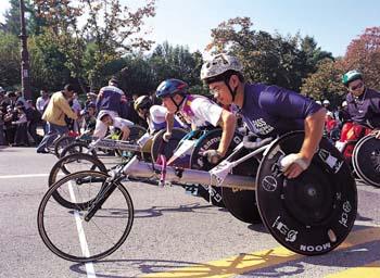 휠체어마라톤대회1