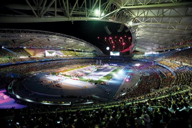 11.5.17. 2011 세계육상선수권대회 개막식