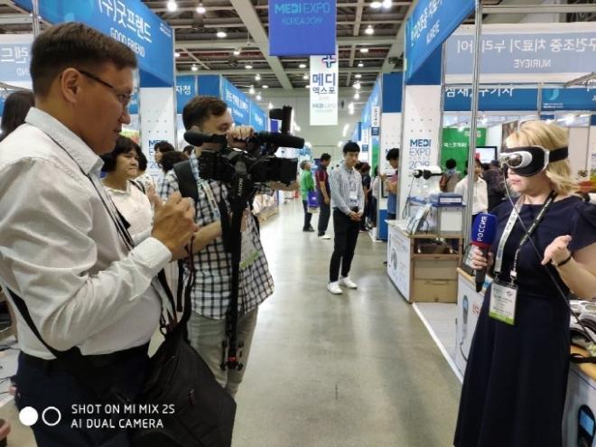 세계 각국 언론, '대구국제의료관광전'에서 취재 열풍