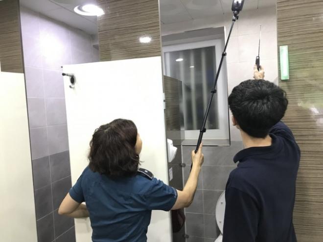 대구시설공단 도심공원 여름철 공중화장실 불법카메라 설치 합동점검 실시