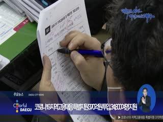 코로나19 지역고용대응 특별지원 370억원 투입, 34,800여명 지원