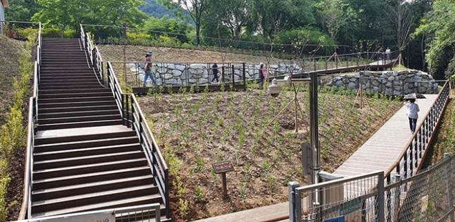 대구수목원, 제2출입문 개선으로 주민숙원사업 해결