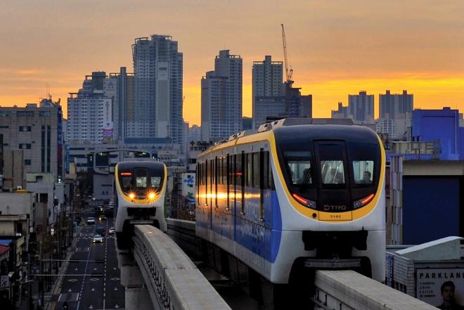 도시철도 3호선, 고산골 공룡공원(2020대구화보 p69)