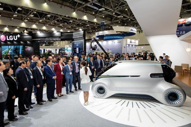 대구국제미래자동차엑스포, 자율주행자동차(2020대구화보 p82-83)