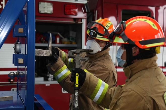 대구소방, 문 개방 훈련장비 자체 개발 보급
