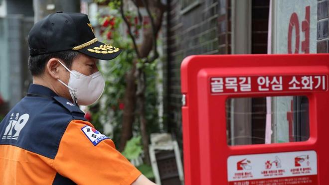 정남구 대구소방안전본부장, 쪽방촌 현장 대응·대책 점검
