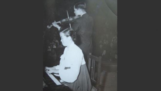 대구 근현대 문화 예술 인물 피아니스트 이경희