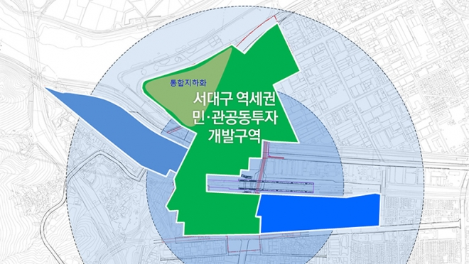 서대구역세권 도시개발사업 타당성 조사 및 중앙투자심사 면제