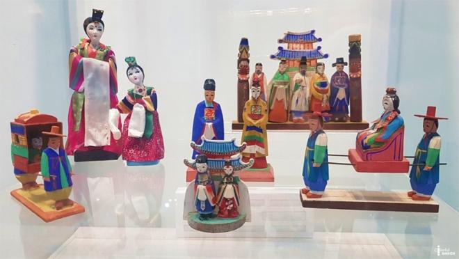2021 섬유 박물관 작은 전시 : 목각인형으로 보는 우리 옷과 문화