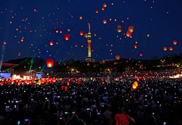 소원풍등날리기, 대구대표 축제로 자리매김한다!