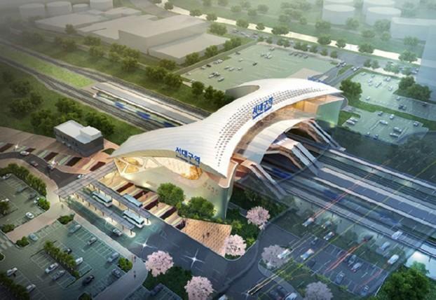 대구시-철도시설공단 협업 통해 서대구고속철도역을 랜드마크로!