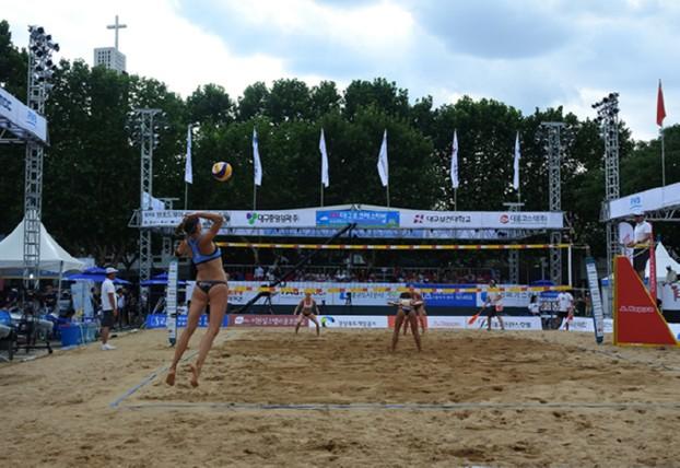 내륙의 열사 도시-대구'에서 열리는 해변스포츠