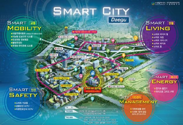 대구시, 올해 도시혁신 기반의 대구형 스마트시티 모델 제시