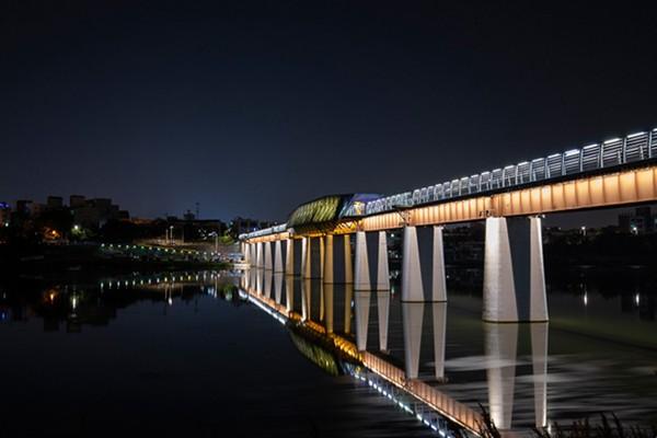 아름다운 대구의 밤을 만날 수 있는 곳 - 아양기찻길/고산골 전망대/동촌유원지