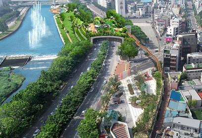김광석거리와 신천 수변문화공간 바로 넘나든다