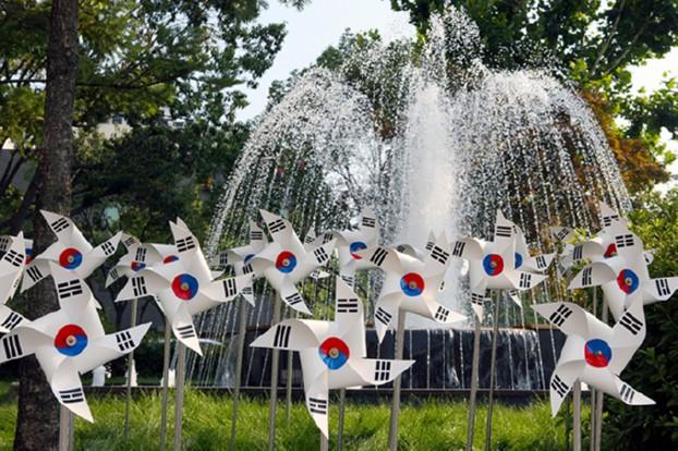제73주년 광복절 맞이 '나라사랑 태극기 달기운동' 전개