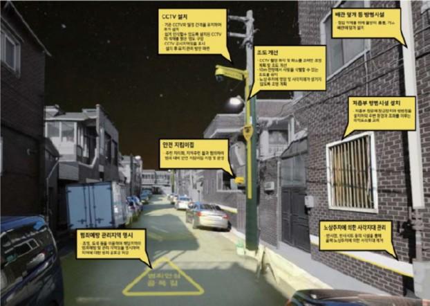 도시 디자인을 통해 범죄를 예방한다!