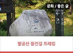 역사도 배우고 건강도 챙길 수 있는 팔공산 왕건길 용호상박 구간 트레킹!
