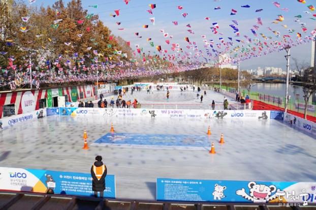각양각색 개성 있는 대구 스케이트장을 소개합니다! - 신천 스케이트장/대구실내빙상장/83타워 아이스링크