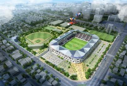 대구FC의 새로운 홈경기장 완공!