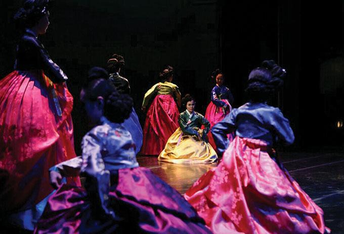 한국 가인지무 효무공연예술원