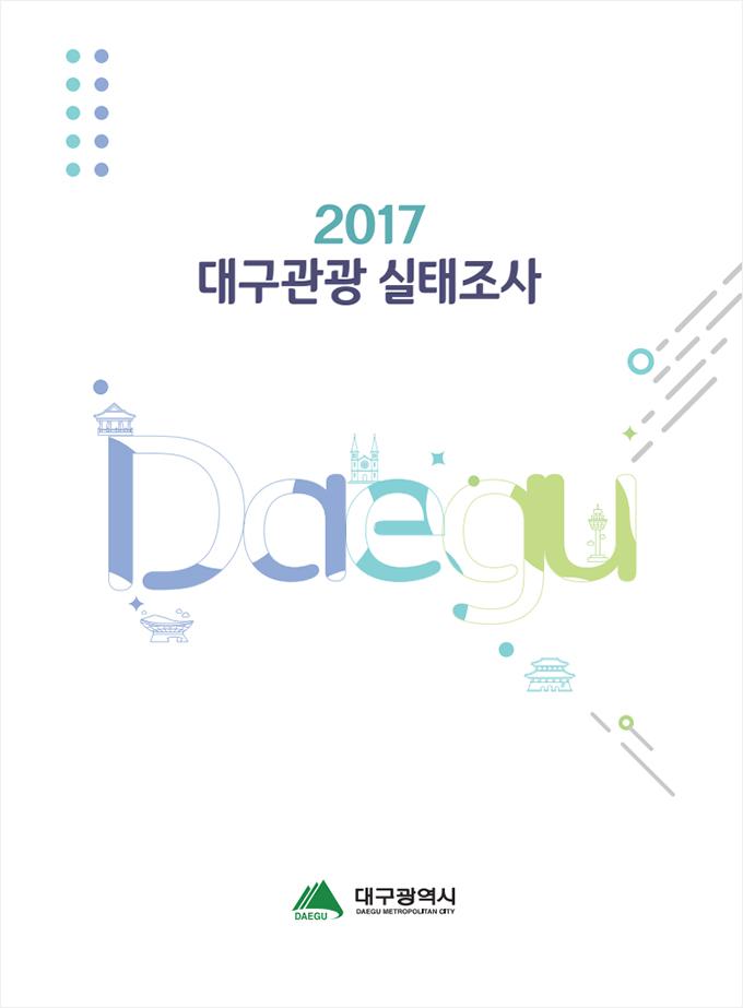 2017년 대구관광실태조사 표지