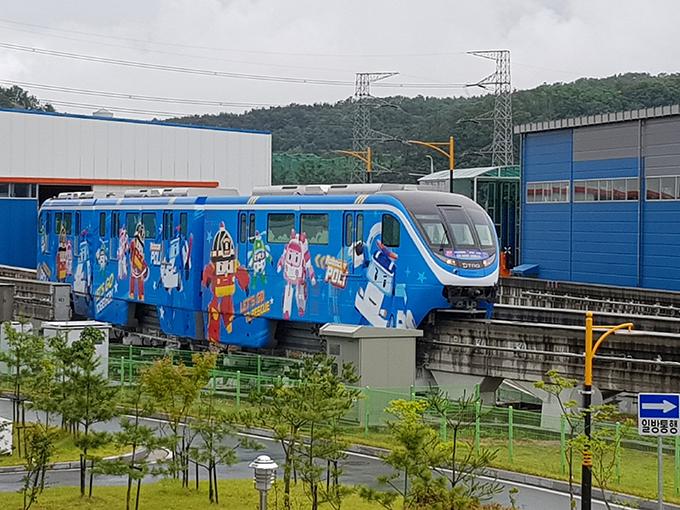 로보카폴리 테마열차 사진