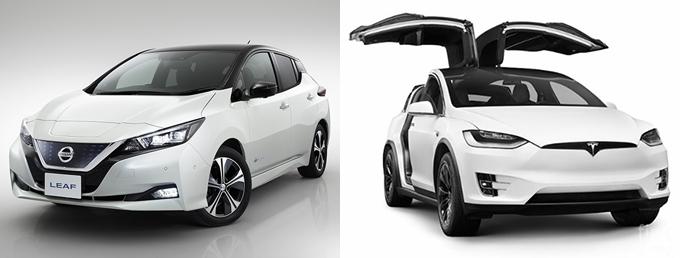 닛산 리프 신형 / 테슬라 모델 X