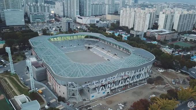 시민운동장 축구전용경기장 전경