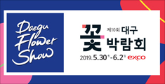 제10회 대구 꽃 박람회 2019.5.30.목~6.2.일 exco