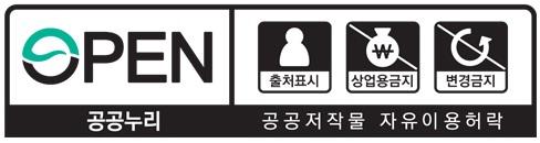 제4유형:출처표시+상업적 이용금지+변경금지
