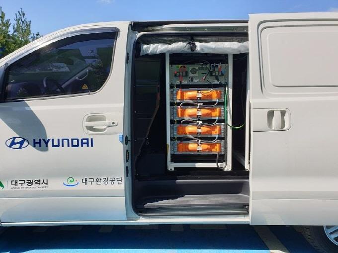 전기차 긴급충전서비스 차량 내·외부