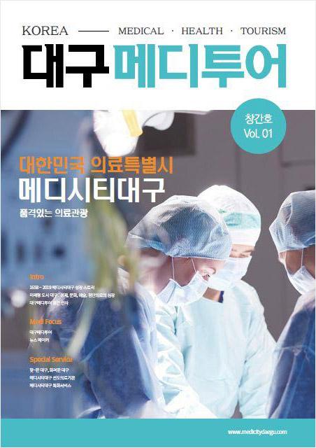 대구메디투어(DAEGU MEDITOUR) 한국어판 표지